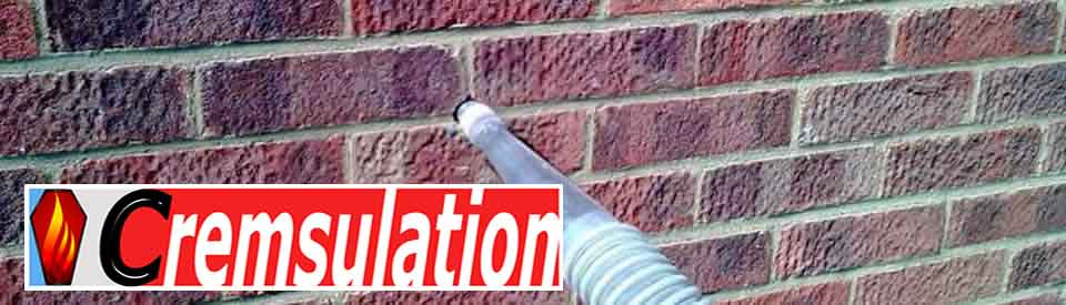 Cavity insulation, cremsulation