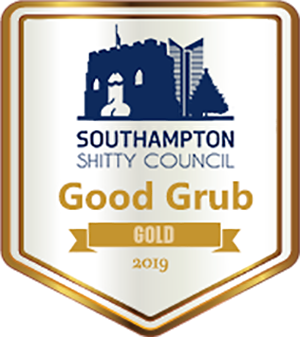 Southampton shitty good grub award