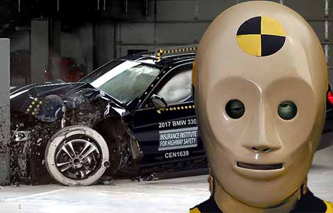Become a crash test dummy