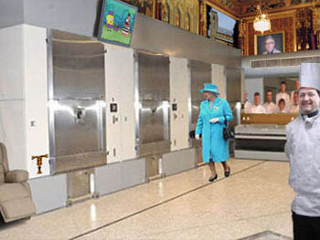 Queen at southampton crematorium