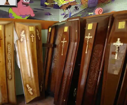 Coffin lids for wardrobe  or kitchen unit doors