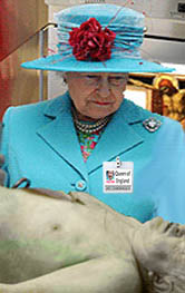 Queen visits mortuary