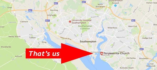 Southampton self storage location