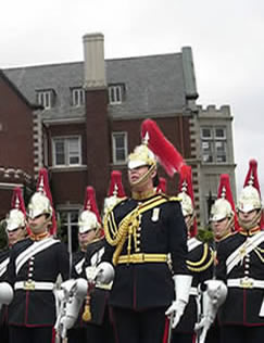 "Queen's ""Mounted"" Guards"